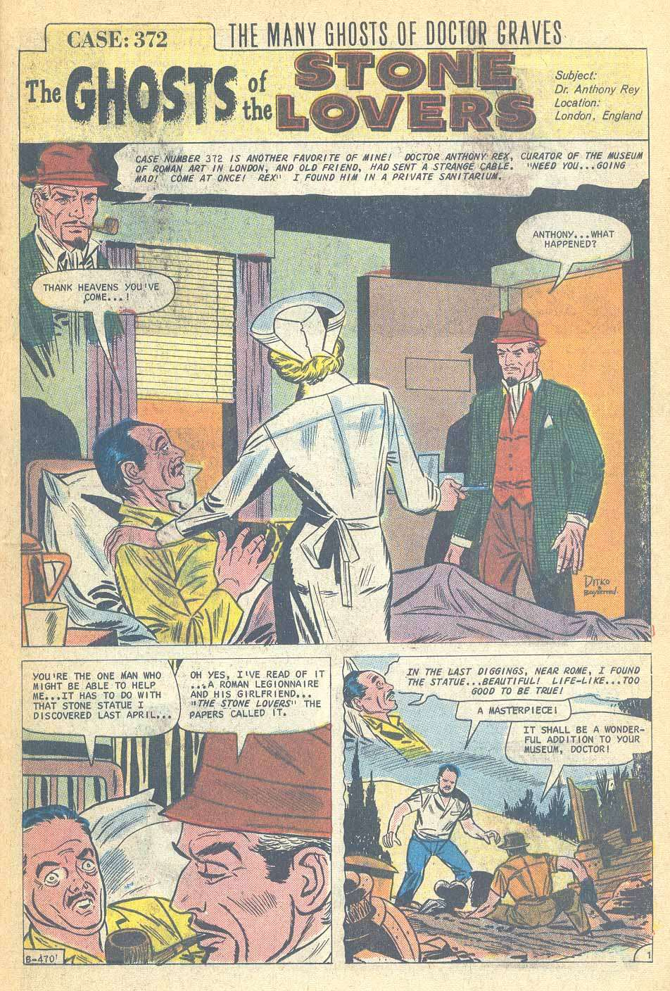 The Many Faces Of Sicily Dolce Gabbana Sicilian Folk: THE CHARLTON COMICS READING LIBRARY: THE MANY GHOSTS OF