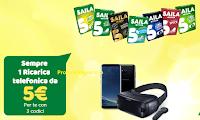 Logo ''Saila Ricarica'': ricariche telefoniche come premio sicuro e vinci Kit Samsung