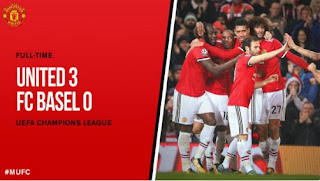Video Gol Manchester United vs FC Basel 3-0 Liga Champions