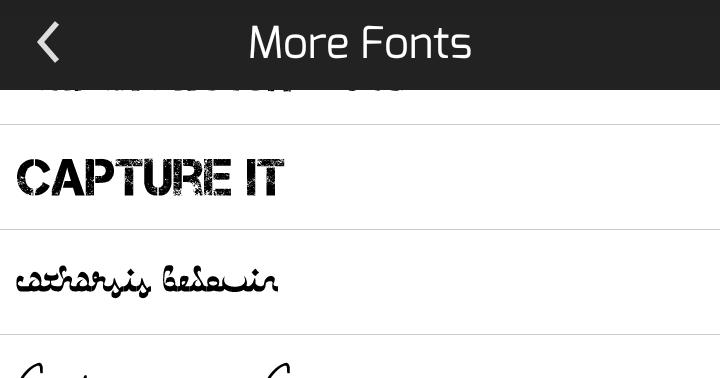 Download Font Pack 250 Untuk Picsay Pro dan PicsArt - Luxman Fawkes