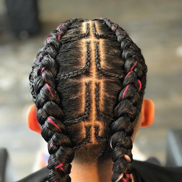 latest braided hairstyles men