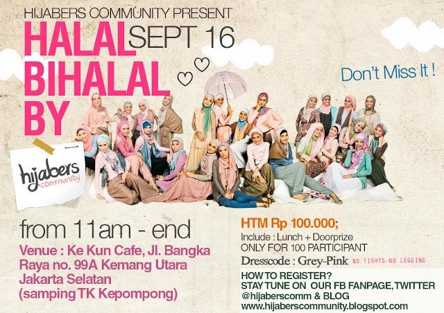 Halal Bihalal With Hijabers Community Indahrp