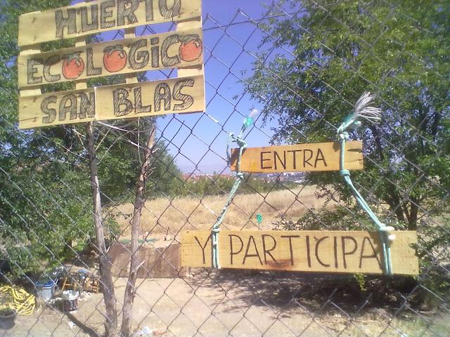 El Huerto ecológico de San Blás