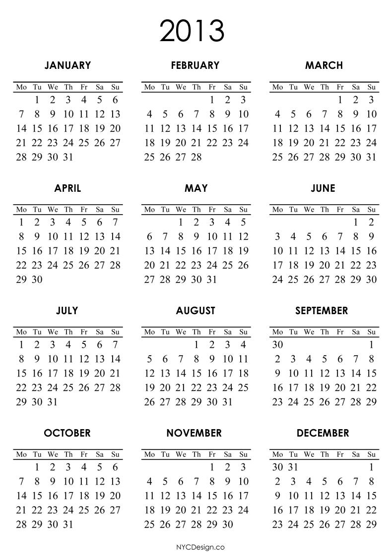 2013 Calendar Quotes. QuotesGram