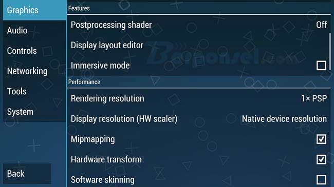 Cara Setting PPSSPP di Android dan PC agar tidak Lag/Lemot
