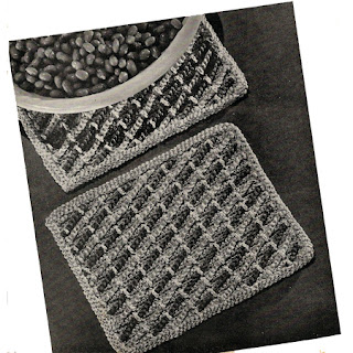 Free Crocheted Place Mats Pattern