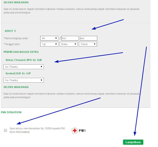 Cara Booking Tiket Pesawat Citilink Online