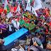 Diusung PBB dan PDIP Pasangan Diky - Denny Daftar ke KPU Kota Tasikmalaya