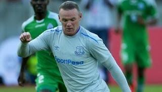 Video Gol Gor Mahia vs Everton 1-2 Rooney Cetak Gol Perdana