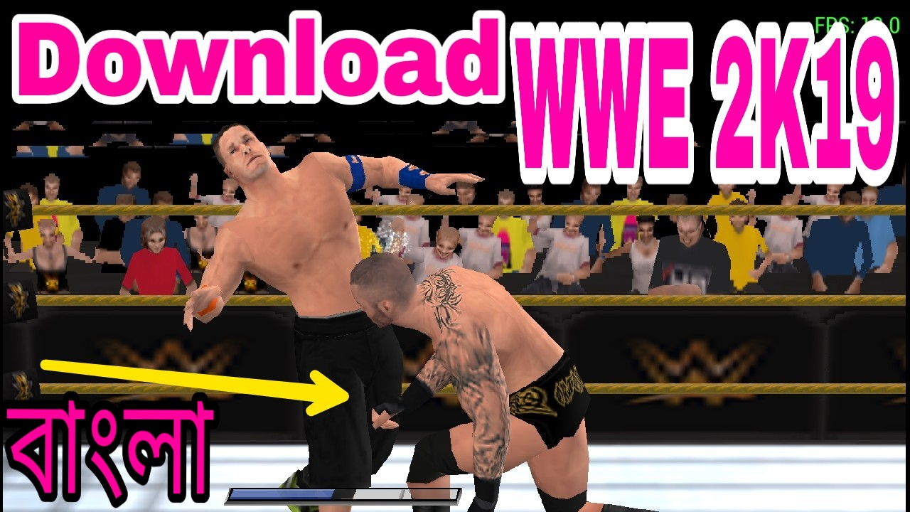 WWE 2K19 APK + OBB for Android MOD PATCH | PPSSPP Emulator