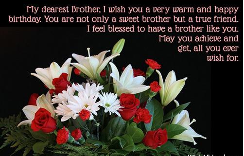 Happybirthdaychocolatecakeformy Brother 500500 Pinterest