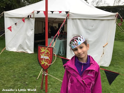 Arundel Castle craft tent event