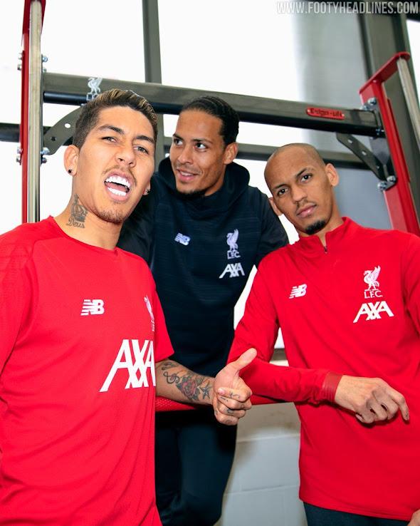 online retailer ffe44 c2e1b New Sponsor: Full Liverpool 19-20 Training + Pre-Match ...