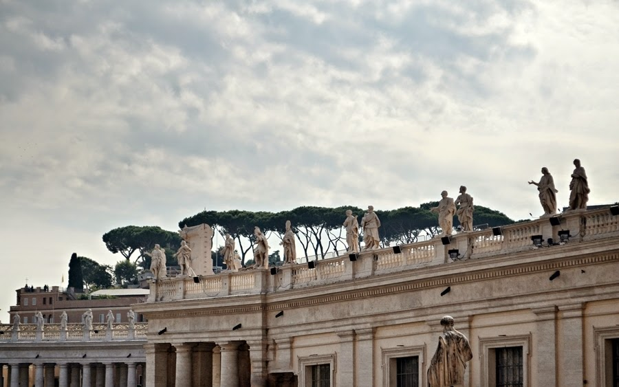 Inside the Vatican City