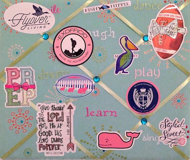 Where To Put Preppy Stickers | Live The Prep Life