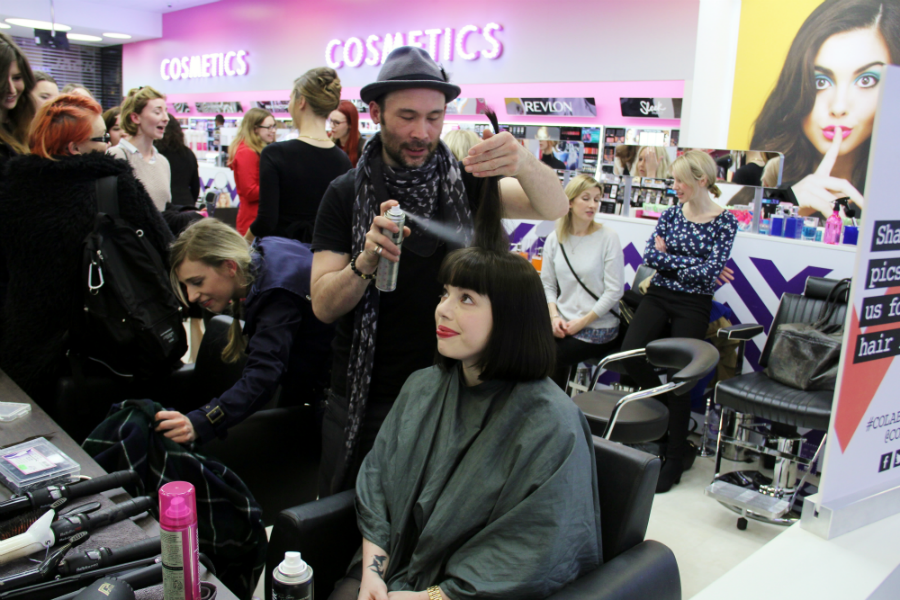 ruth crilly colab hair event