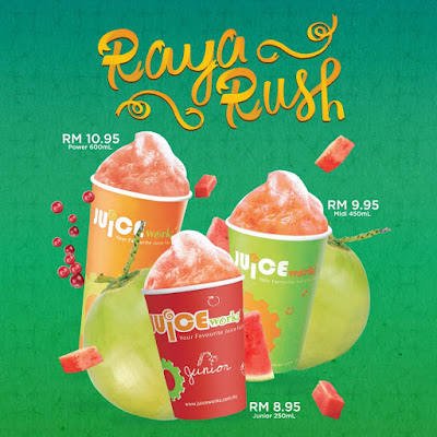 Juice Works Buy 1 FREE 1 Junior Size Beverage When You Flash Grab Receipt