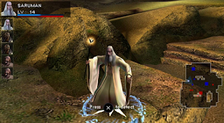 The Lorg of The rings: Aragorn's Quest PSP For Android