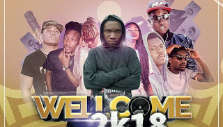 DOWNLOAD MP3: WayStar - Welcome 2018 (Feat. Jay King, P-Hustler, HRC, Scoco Boy, Luwi Ace, Nany & Lucci Boy)
