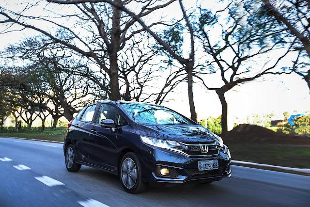 novo Honda FIT EXL 2018