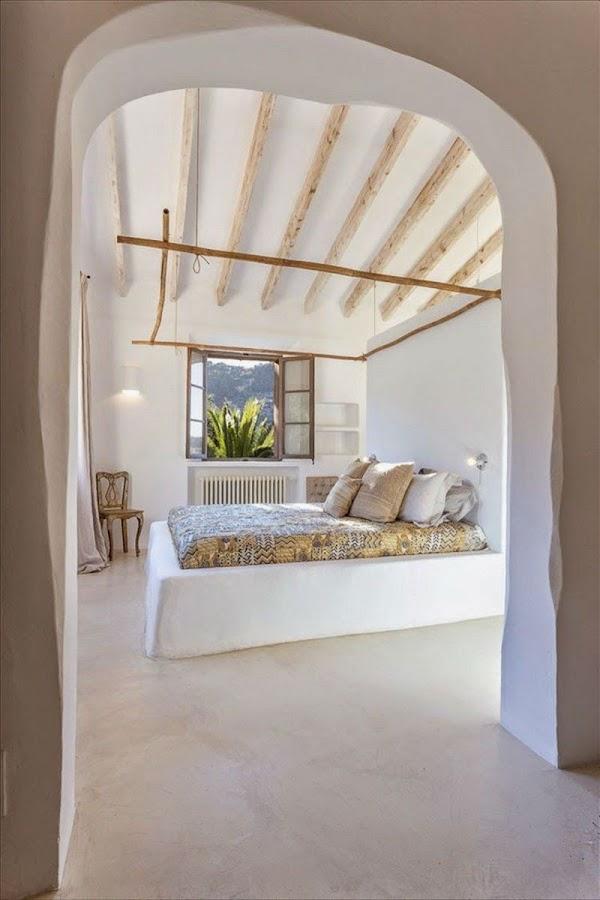 Dormitorio en casa de campo