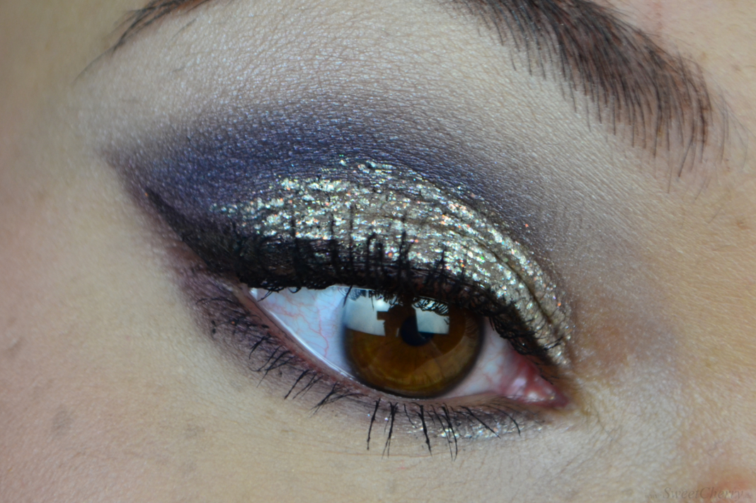 Silvester Make-up Look