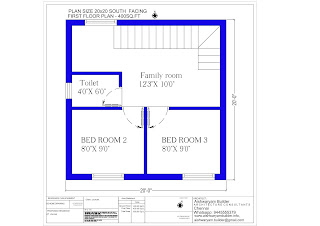 duplex home design for south facing