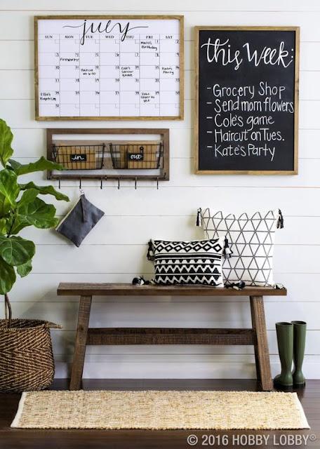 Ideas para decorar recibidores pequeños-11