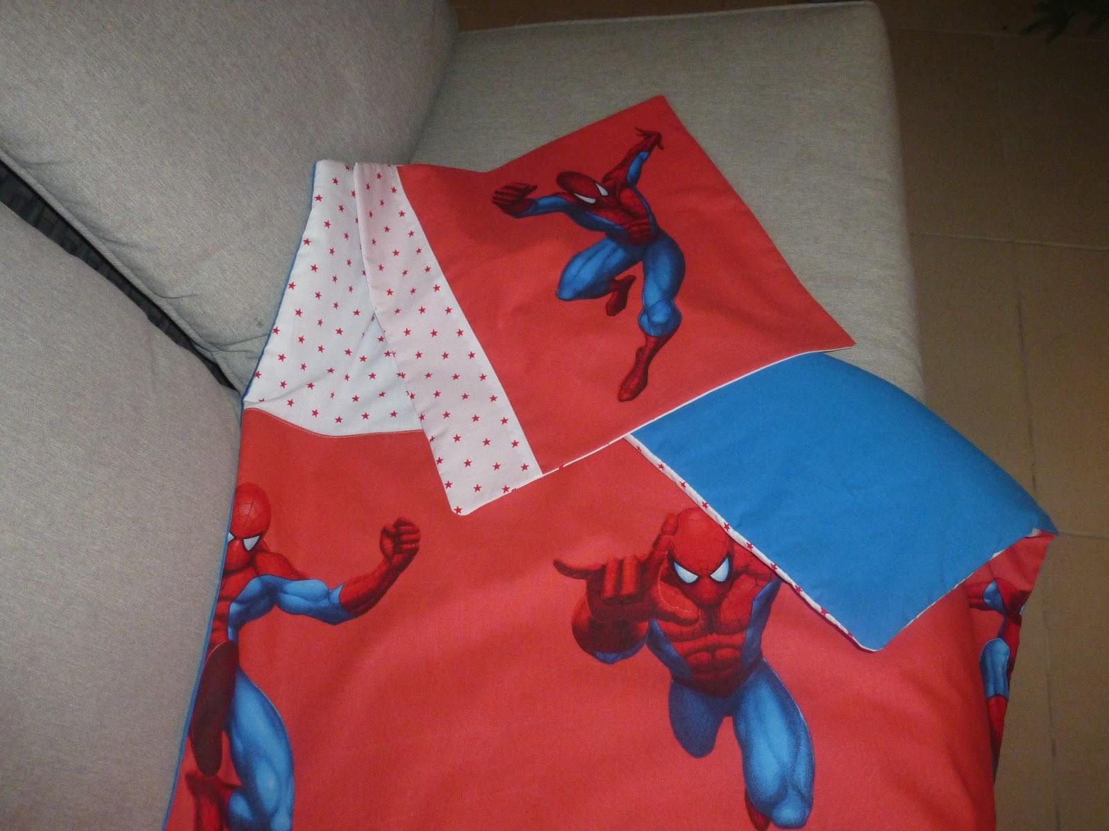 Paola & Piccolino: Parure De Lit Spiderman