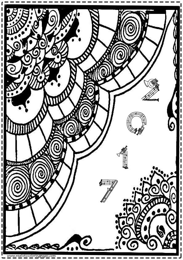 New Year 2017 Coloring Pages For