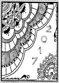 new year 2017 coloring pages free printables