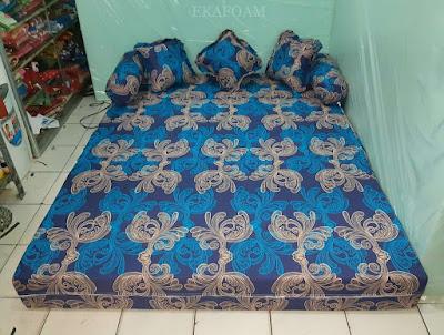 Sofa bed inoac motif minimalis eterna
