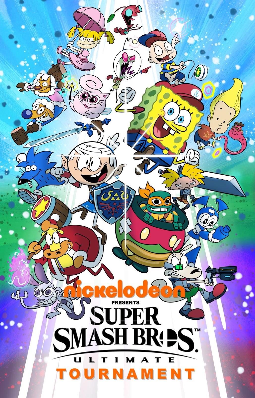 Nicktoons 2019 : nicktoons, NickALive!:, 'SpongeBob', Artist, Mashes, Nickelodeon, Smash, Bros., Characters
