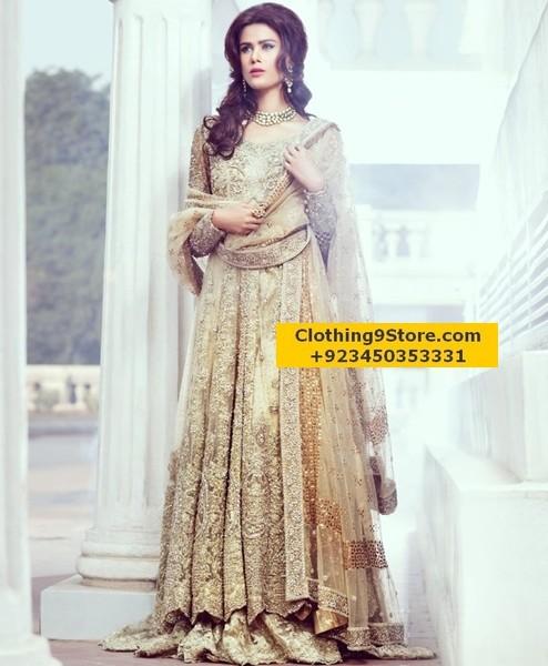 Pakistani Bridal Dresses Designs
