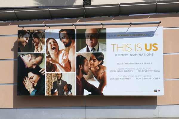 This Is Us 2018 Emmy nominee billboard