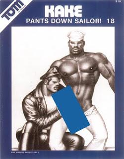 Tom of Finland Kake 18: Pants Down Sailor!