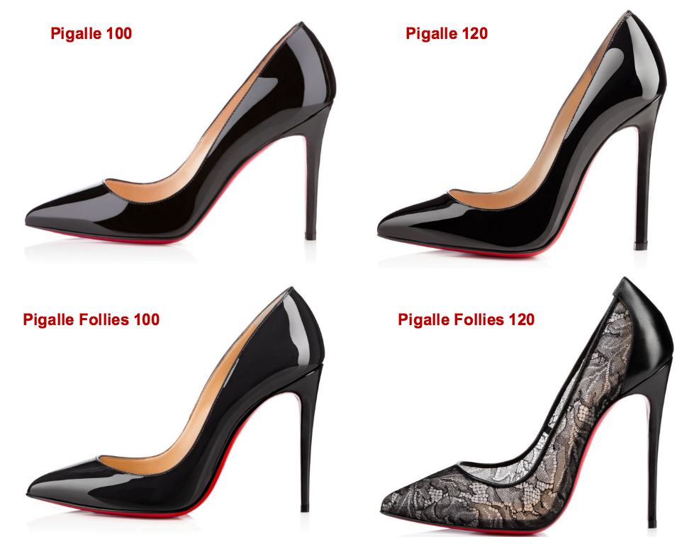 christian louboutin 100 vs 120