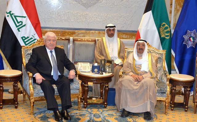 أمير-الكويت-رئيس-العراق