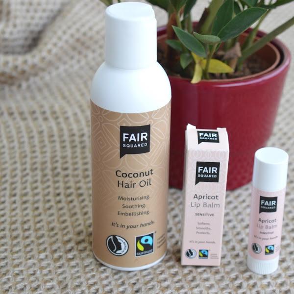 Fair Squared: Coconut Hair Oil & Apricot Lip Balm