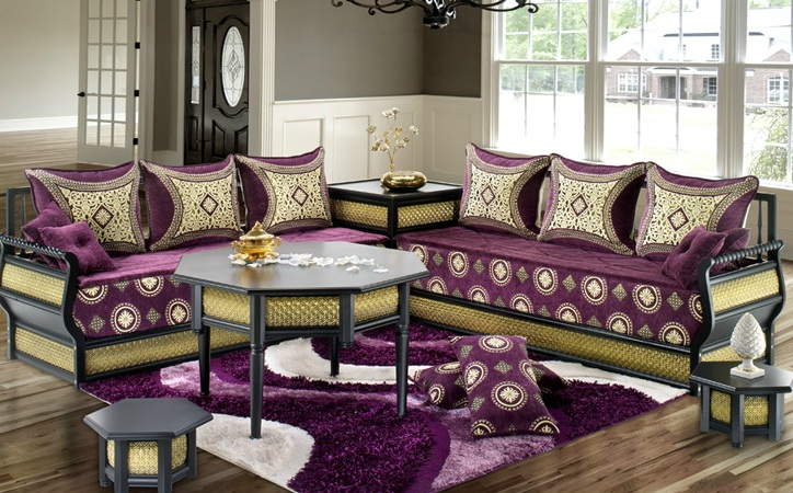 genie bricolage d coration salon marocain 2013 photos. Black Bedroom Furniture Sets. Home Design Ideas
