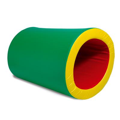 rulo estimulacion temprana juego espuma didactico psicomotricidad bebes verde amarillo y rojo