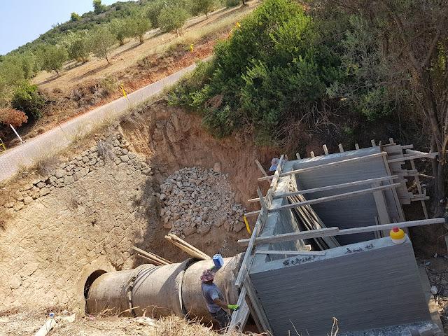 Έργα για την αποκατάσταση του δρόμου στο Μαλανδρένι από το Δήμο Άργους Μυκηνών