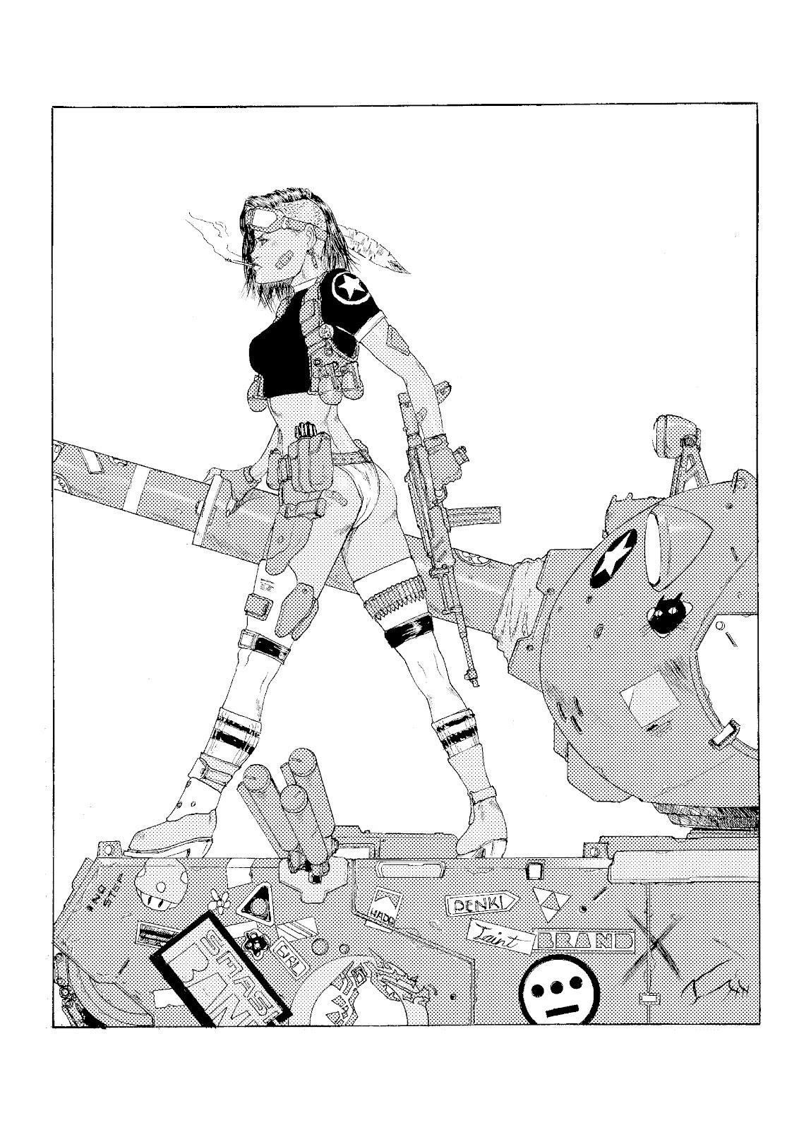 Timberline Draw Blog: Tank girl?