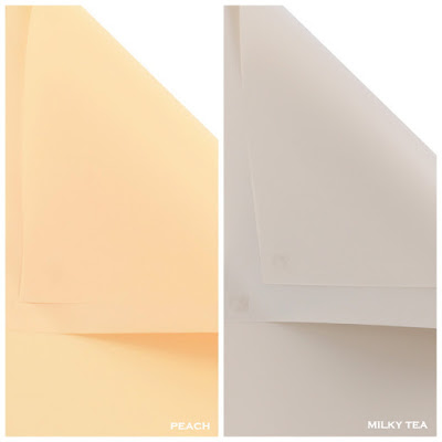 Kertas Buket Bunga / Flower Bouquet Wrapping Paper (Seri HX Polos)