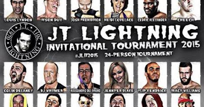 TANNER'S HOT SHOTS: AIW'S JT LIGHTNING INVITATIONAL TOURNAMENT 2015 NIGHT TWO