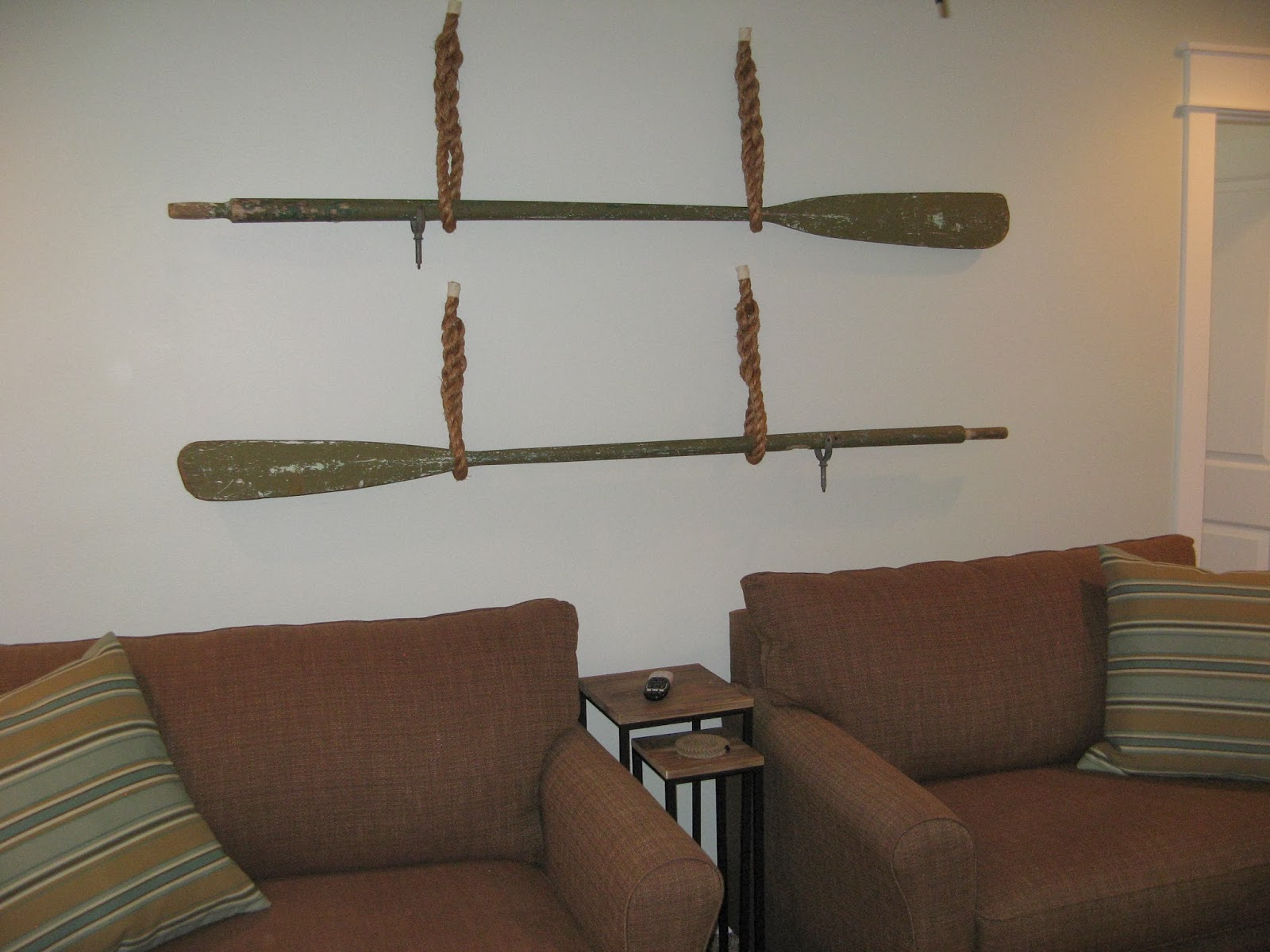 Susan Snyder Boat Oars Wall Decor