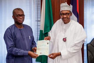 BREAKING: WAEC Presents Certificate To Buhari