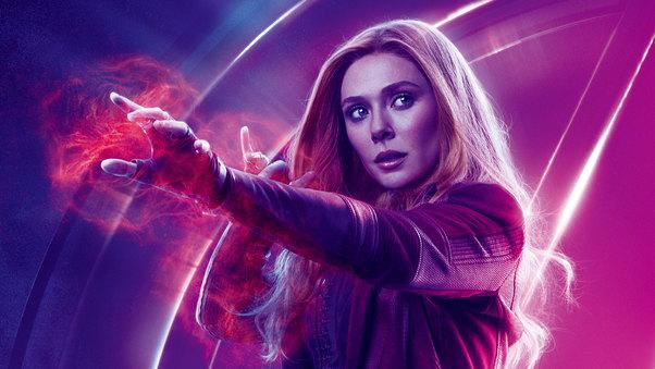 Comic Characters' Scarlet Witch - Wanda Maximoff