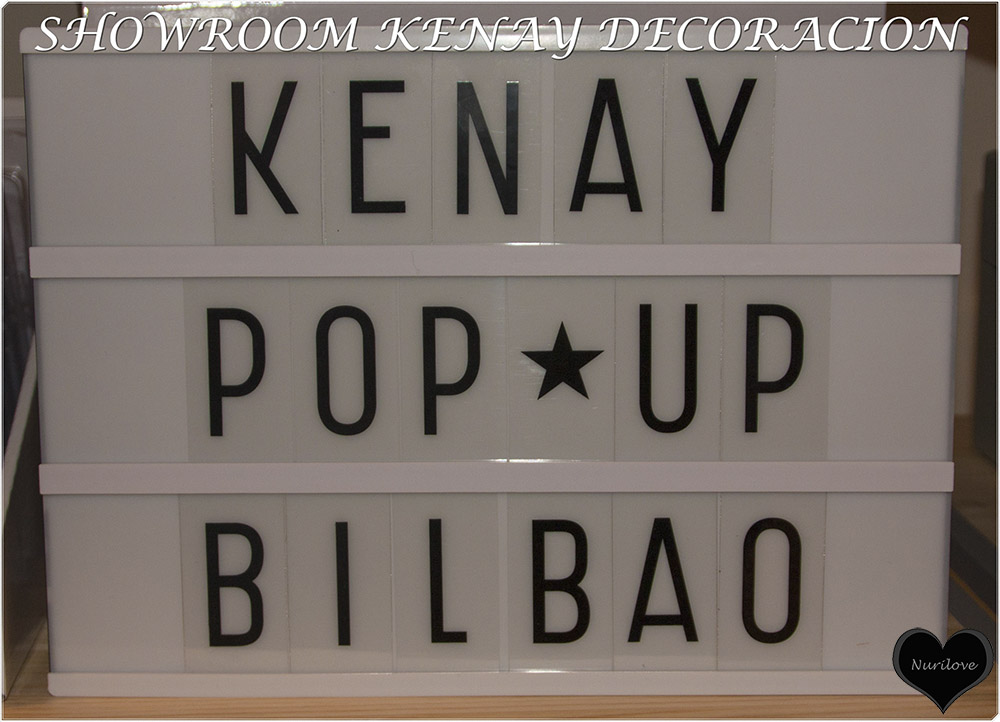 Showroom de Kenay Decoración en Bilbao