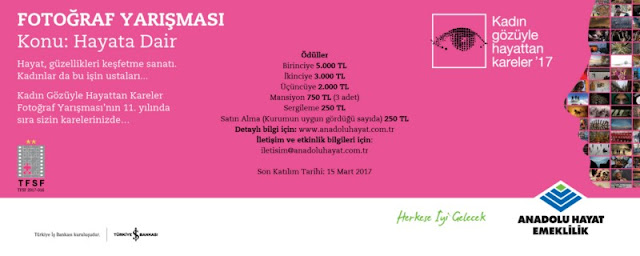 Anadolu Hayat Emeklilik (AHE) Kadın Gözüyle Hayattan Kareler